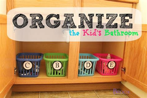organizing kids bathroom beingbrook organizing the kid s bathroom apartment guide