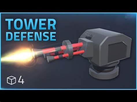 tutorial construct 2 tower defense how to make a tower defense game e04 turrets unity