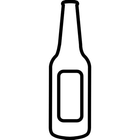 beer cartoon transparent empty beer bottle free food icons