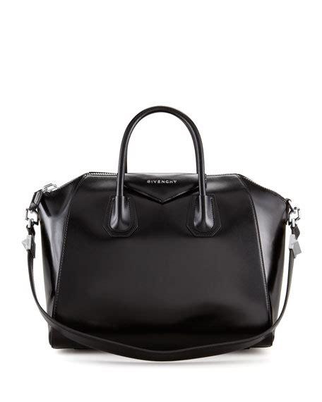 Givenchy Antigona Black Hardware 1 givenchy antigona medium leather satchel bag black