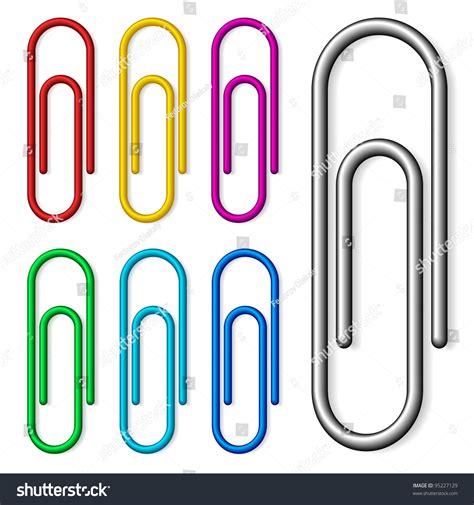 clip stock paper set stock vector illustration 95227129