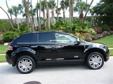 2008 lincoln mkx limited edition buy new 2008 lincoln mkx black on black limited edition