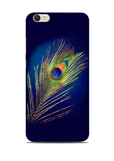 Buy Mor Pankh In Blue Krishna Xiaomi Redmi 3s Back Cover vivo v5 plus back cover