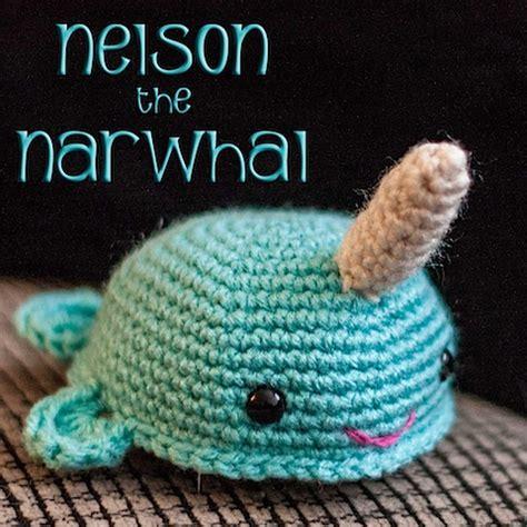 amigurumi narwhal pattern free freebie saturday free crochet narwhal amigurumi pattern