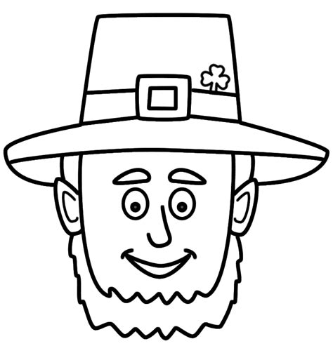 leprechaun hat coloring page leprechaun hat coloring page coloring home