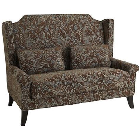 paisley loveseat headington loveseat paisley brown everytime i go into