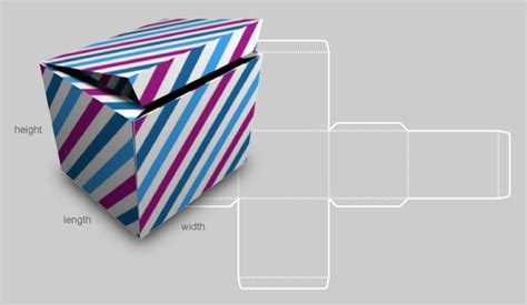 card box template generator custom box template generator how about orange