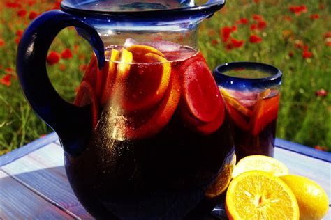 red wine and brandy sangria punch recipe