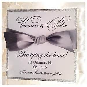 silver wedding save the dates silver save the date card glitter save the date 2431215 weddbook