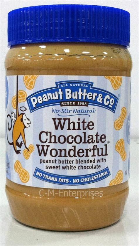 peanut butter  white chocolate wonderful  oz ebay