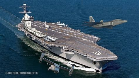 gerald r ford cvn 78 world s largest supercarrier uss gerald r ford cvn 78