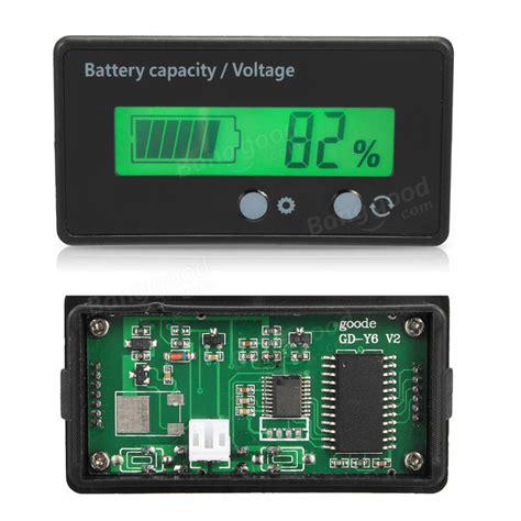 Special Voltmeter Digital Jam Suhu 2 Backlight Volt Meter Vst 4in1 Xtr 12v 6 63v lcd acid lead lithium battery capacity indicator digital voltmeter sale banggood