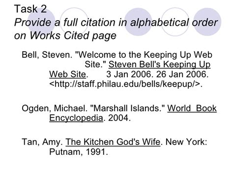 the color purple book works cited mla book citations only
