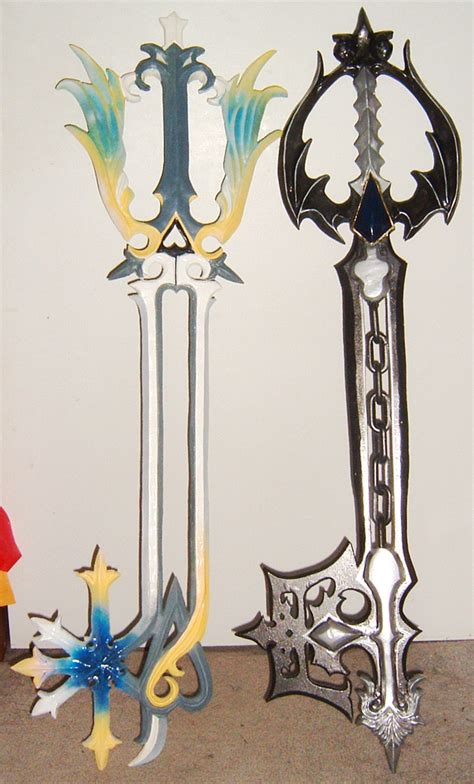 Keyblade Papercraft - like chat in page 7 arcade