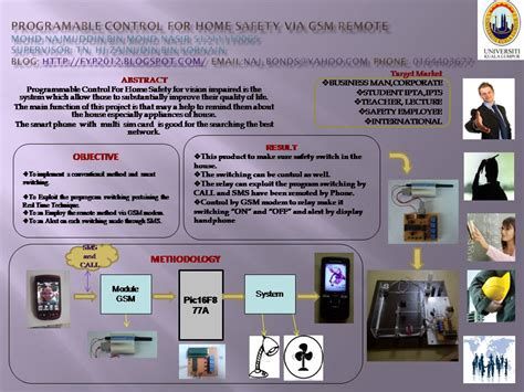 home automation and safety via gsm remote