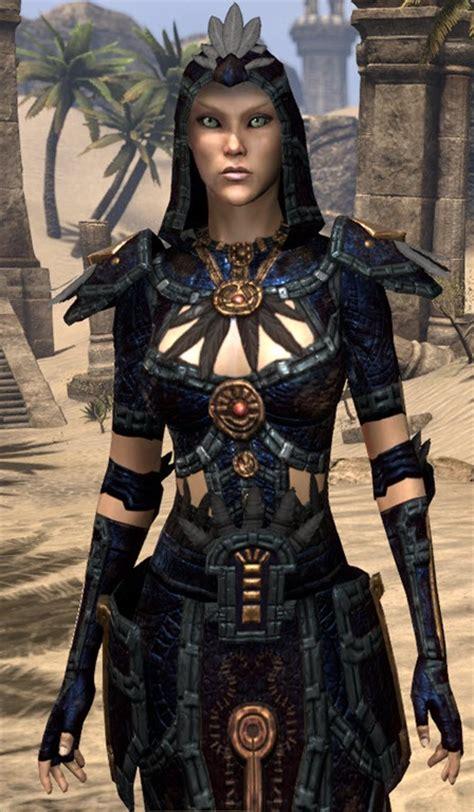 ebony light armor eso eso fashion argonian shadowspun