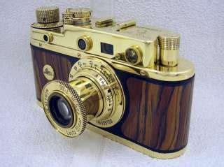 russian 35mm rangefinder gold camera leica ii luftwaffe