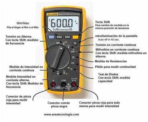 Multitester Fluke 87 multimetro fluke partes medidas tipos y precios