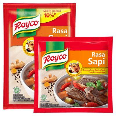 royco kaldu sapi masak  hari
