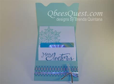 Envelope Punch Board Gift Card Holder - qbee s quest envelope punch board gift card holder