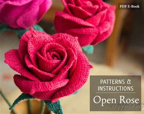 free crochet rose bag pattern crochet rose pattern crochet pattern for wedding
