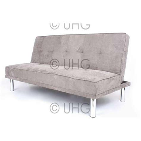 brown suede sofa bed faux suede sofa bed energywarden