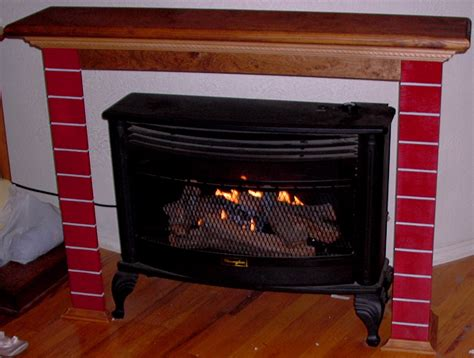 Ventless Gas Fireplace With Mantel Best Gas Fireplace With Mantel All Home Decorations