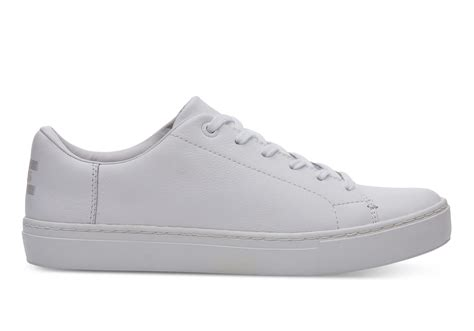 white leather s lenox sneakers toms 174