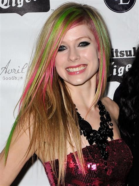avril lavigne straight hair top 100 hottest long hairstyles for 2014 celebrity long