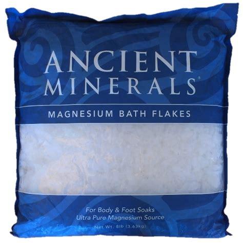 Magnesium Detox Bath by Ancient Minerals Magnesium Bath Flakes 3 63 Kg