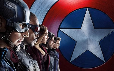dual monitor wallpaper captain america captain america civil war team wallpapers hd wallpapers