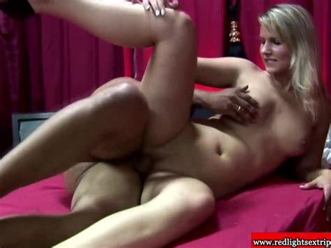 Real Dutch Prostitute Riding Dick As She Wears Sexy
