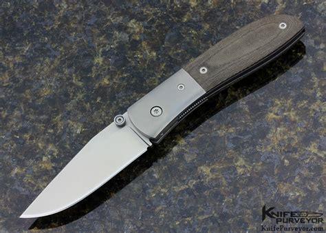 carson knife kit carson model 4 micarta linerlock knifepurveyor