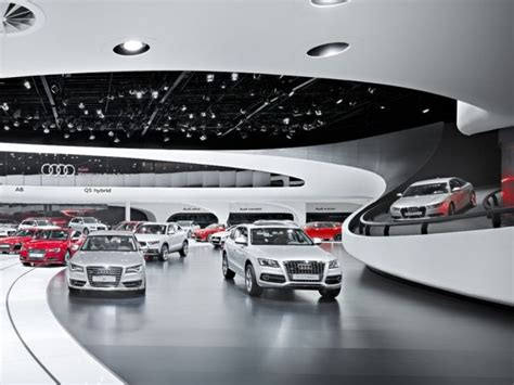 audi showroom 1000 images about car showrooms on pinterest lighting