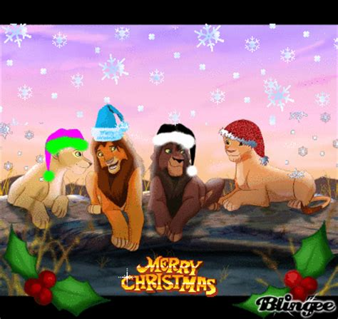 merry christmas lion king picture 103151969 blingee