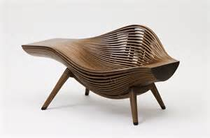 Designer Furniture Bae Se Hwa Steam Parametric Chair Design Wavy Chair