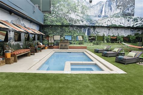 house with a big backyard new pool for big brother 18 house big brother network