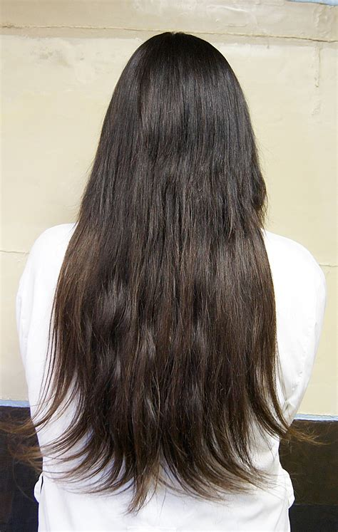 hair from the back images straight hair back view tumblr www imgkid com the