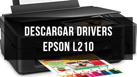 www descargar descargar e instalar drivers epson l210 youtube