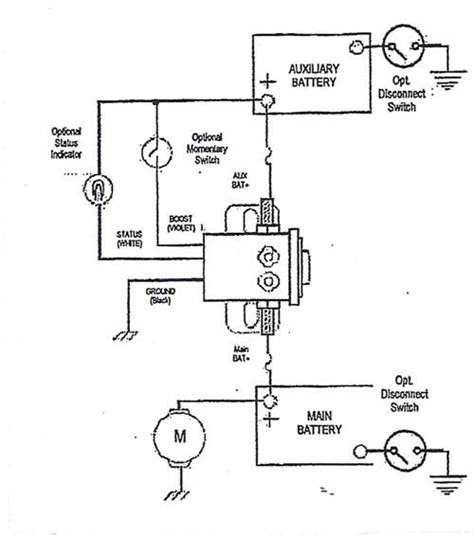warn battery isolator wiring diagram wiring diagram manual