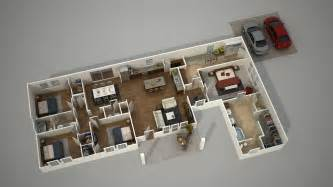 Floor Plan Rendering Software by How To Create A 3d Architecture Floor Plan Rendering