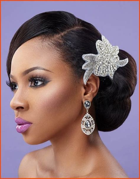 Wedding Hairstyles For Black Hair by 25 Best Ideas About Black Wedding Hair On