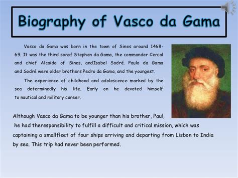 vasco da gama biography vasco da gama 1 ingles