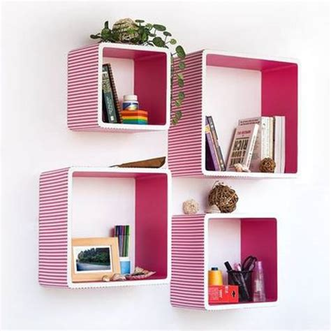 creative decorative bookcases and shelves for rooms