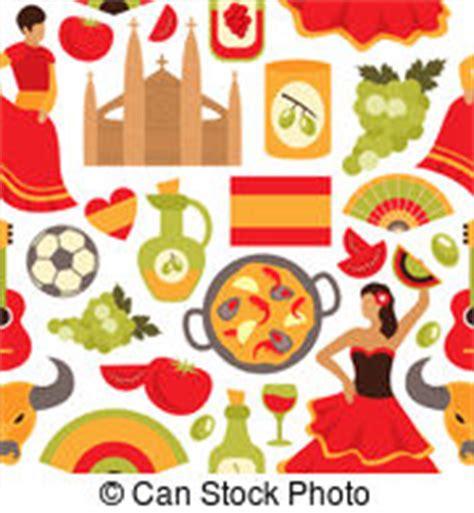 meal pattern in spanish tapas clip art und stock illustrationen 79 tapas eps