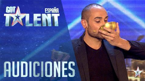 Talent Search Spain The Miracle Of Water Auditions 2 Spain S Got Talent