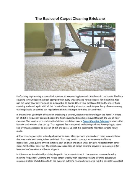 carpet and rug cleaning brisbane the basics of carpet cleaning brisbane by carpet cleaning