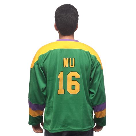 Costume Name Jersey mighty ducks hockey jerseys choose player names d2