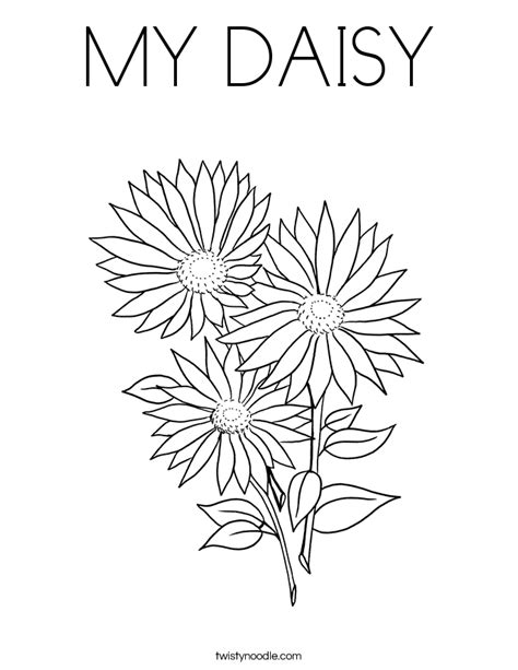 gerbera daisy coloring page coloring pages