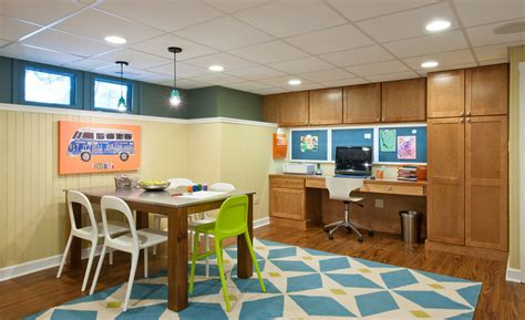 basement office remodel basement office design ideas basement contemporary with